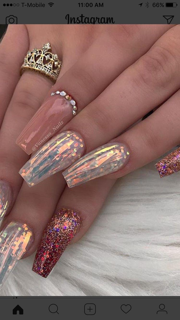 Pin de Rina Ellis en nails | Pinterest | Disenos y Diseños de uñas