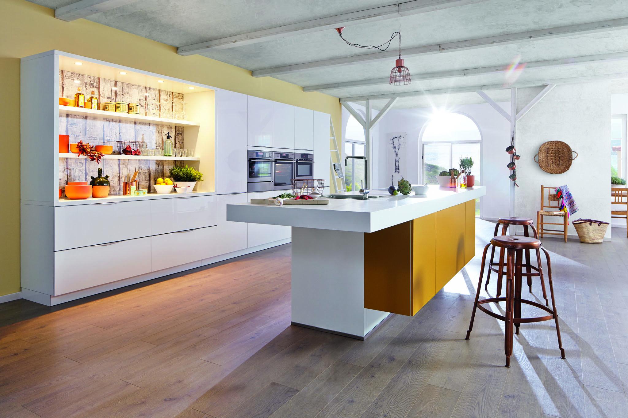 Küchen Idee farbgestaltung der küche bilder und ideen für farbige küchen