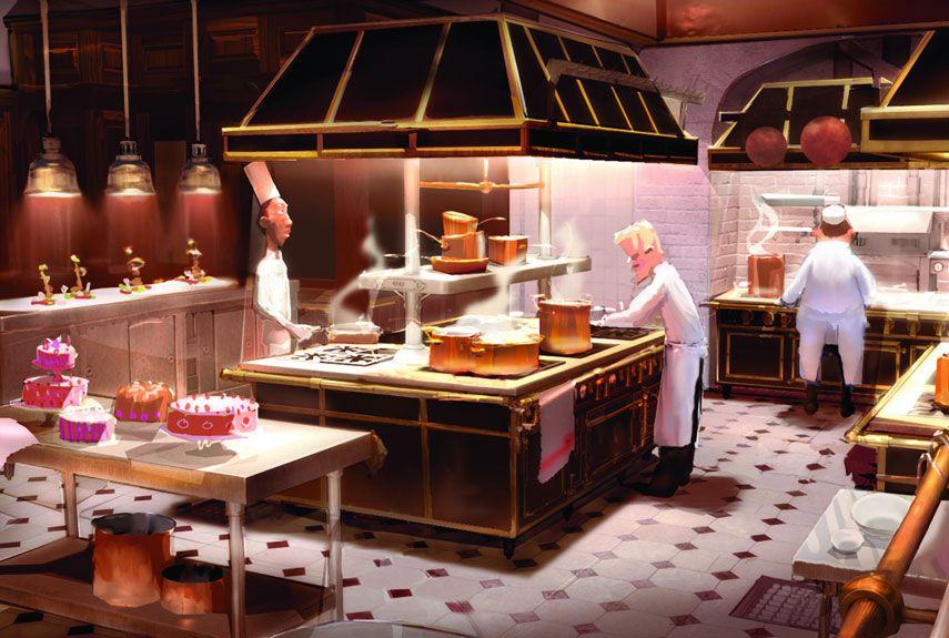 Famous Movie Kitchens Pixar Concept Art Ratatouille Disney Disney Concept Art