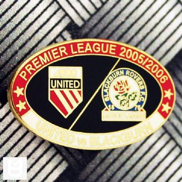 UNITED v BLACKBURN PL Match Badge 200506 RW The unit