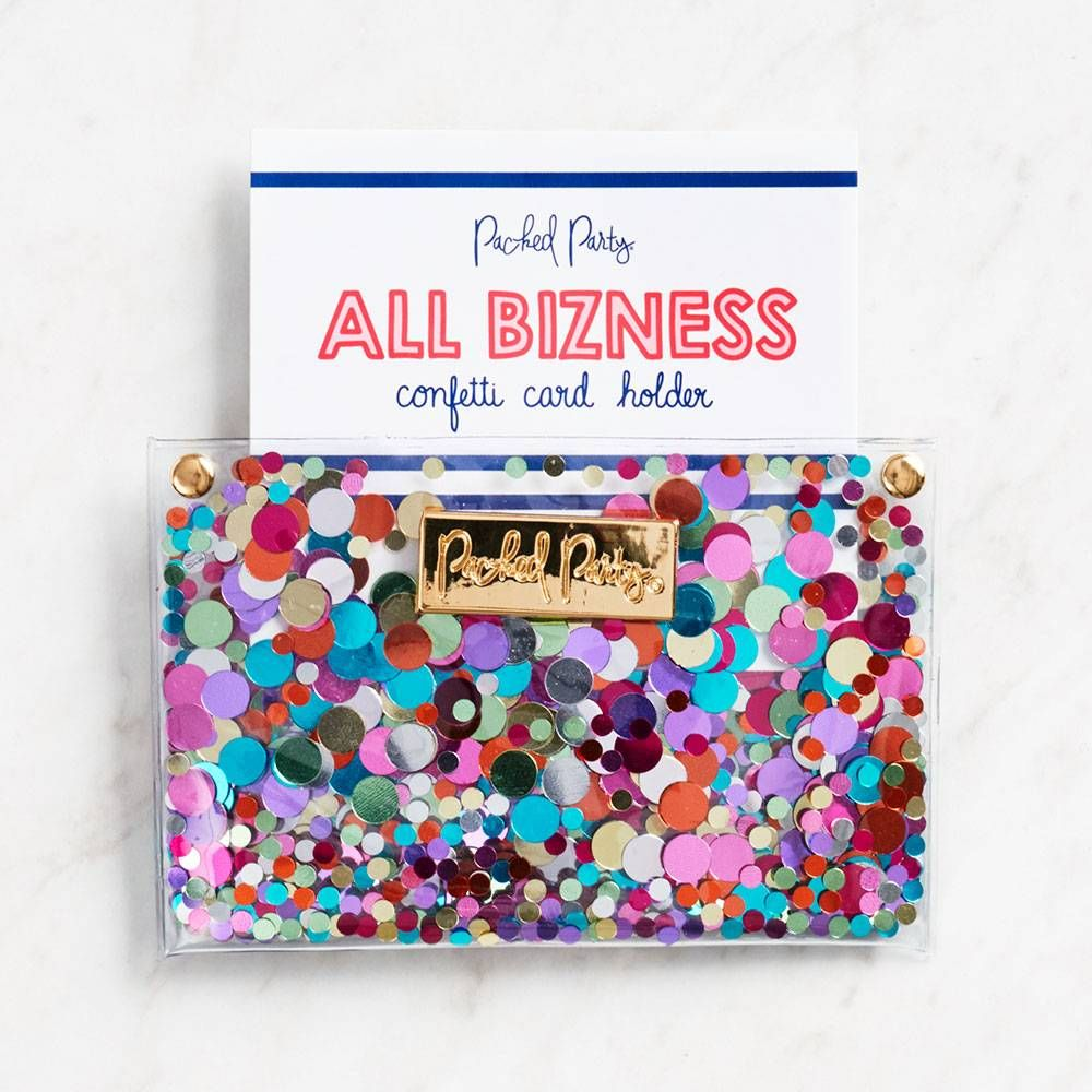Confetti Business Card Holder Wishlist Business Cards Business