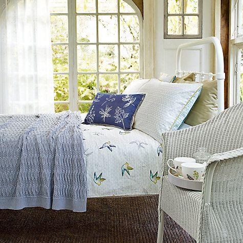 Fran Botanist Bed Frame White Double John Lewis