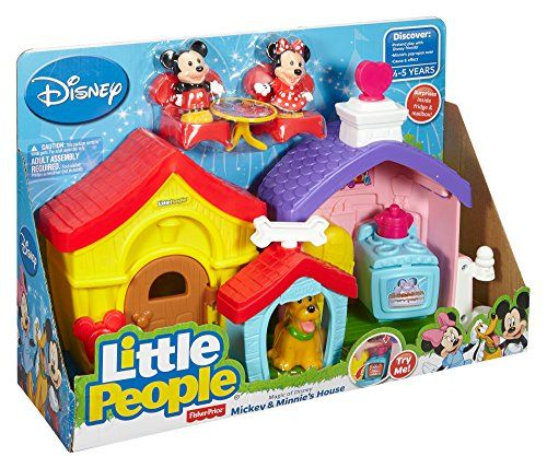 Fisher Price Little People Magic Of Disney Mickey And Minnies House