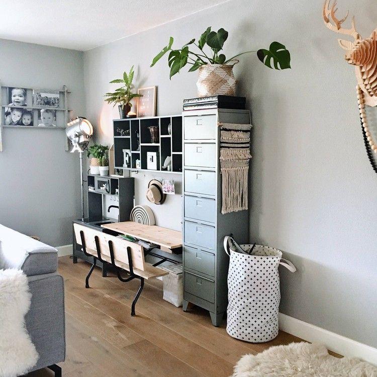 Inspiratie 5x Een Industriele Kast In De Woonkamer Voor Een Stoer Accent Kinderhoek Opbergen Woonkamer Home Deco