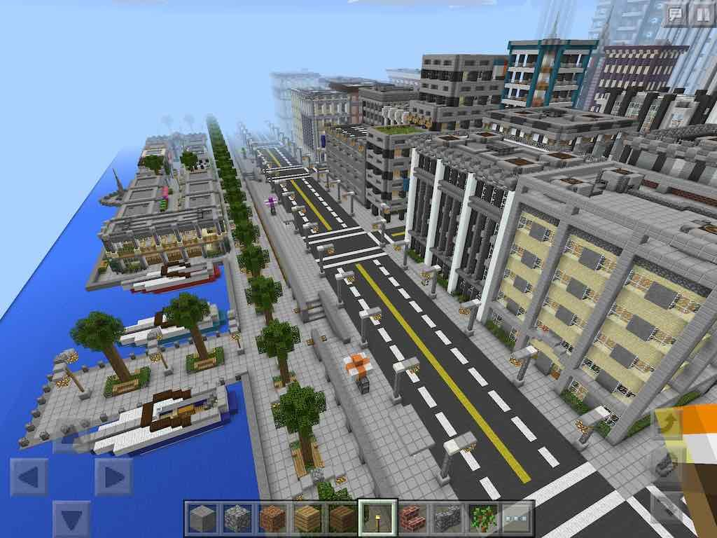 Downloadable Hyvel City Map for Minecraft Pocket Edition ...