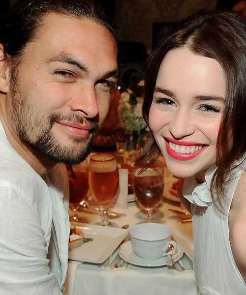Jason Momoa & Emilia Clarke (Khal Drogo And Khaleesi