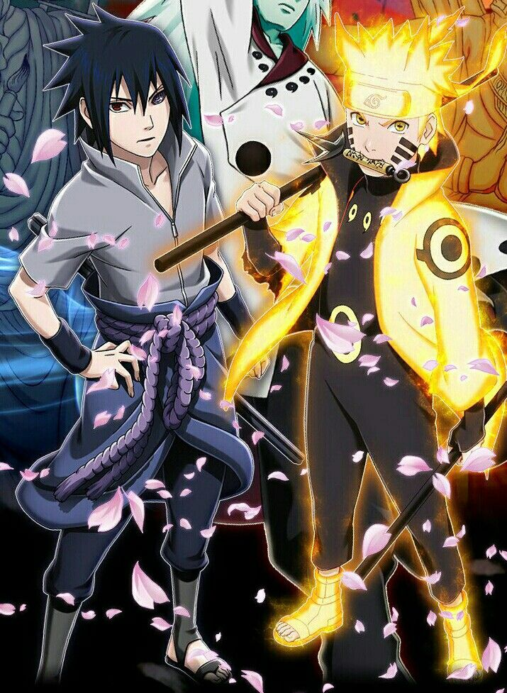 Naruto Sasuke Vs Madara Personagens De Anime Personagens