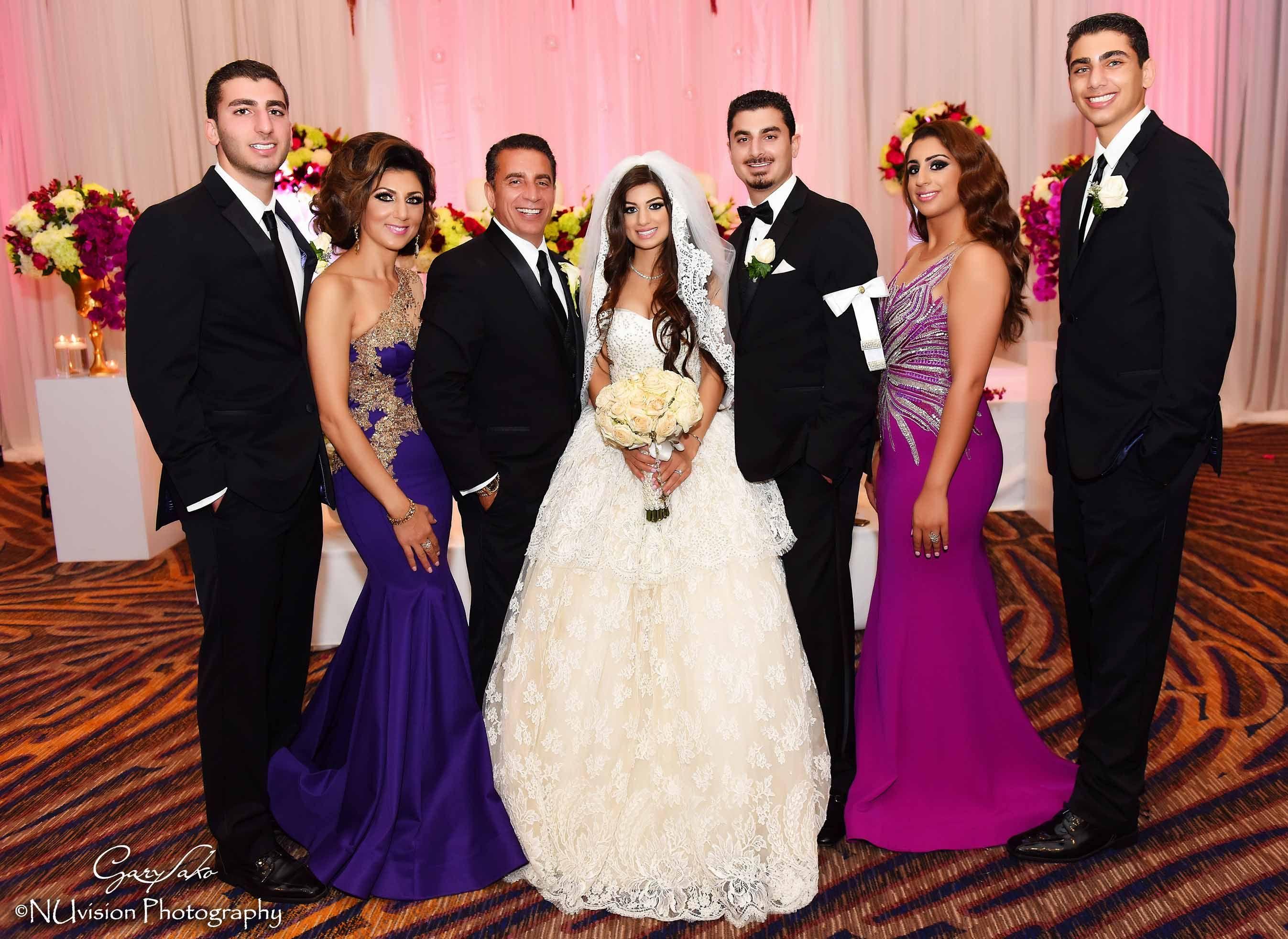 Assyrian Catholic Chaldean Wedding In California Beautiful