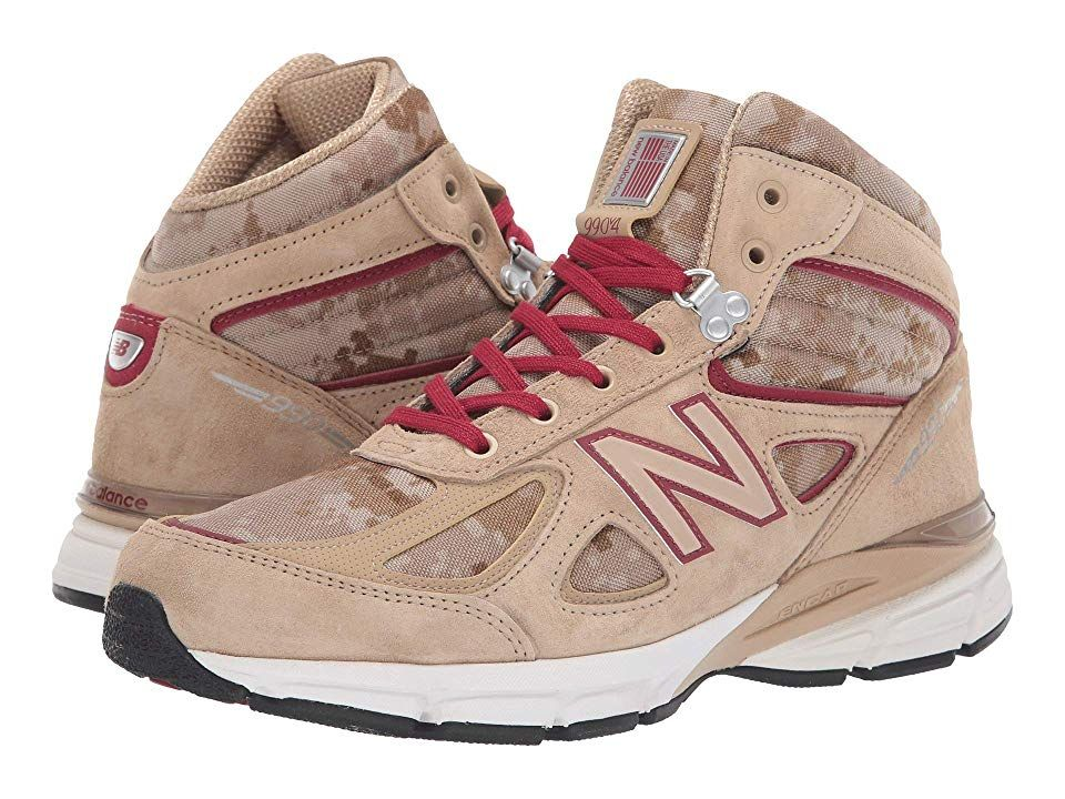 662f9fb3bc3 New Balance 990v4 Boot (Incense NB Scarlet) Men s Pull-on Boots. With a lug  rubber outsole the 990v4 Boot can take you on off-road adventures.