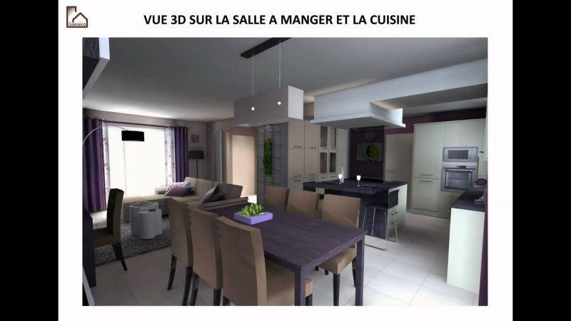 Idee Deco Cuisine Ouverte Sur Salon Home Design in 2018 - Cuisine Ouverte Sur Salle A Manger Et Salon