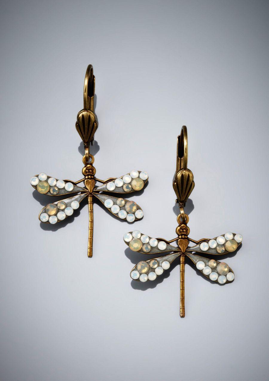 ANNE KOPLIK Dragonfly Earrings