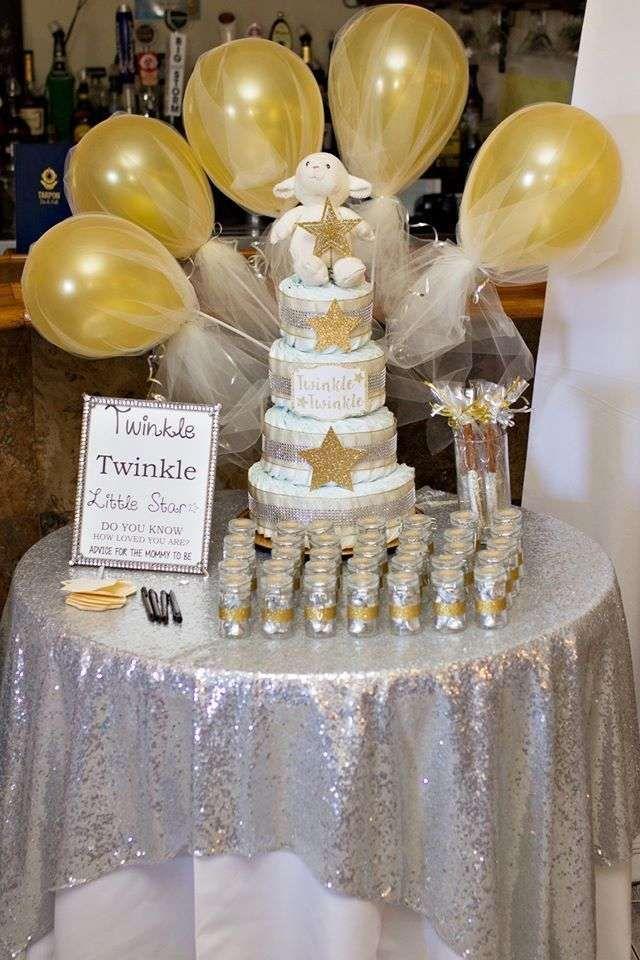 Twinkle Little Star Baby Shower Party Ideas Baby Pinterest