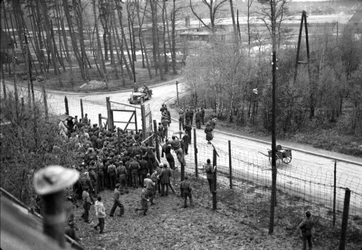 Allied Military Officers Held As Pows At Offizierslager 79 Officers Camp 79 Or Simply Oflag 79 Rush The Gates To Military Officer Soldier United States Army