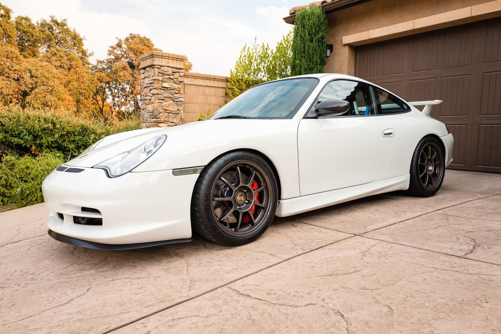 Fs Porsche 996 Gt3 Lightweight Rs Carrera White Rims