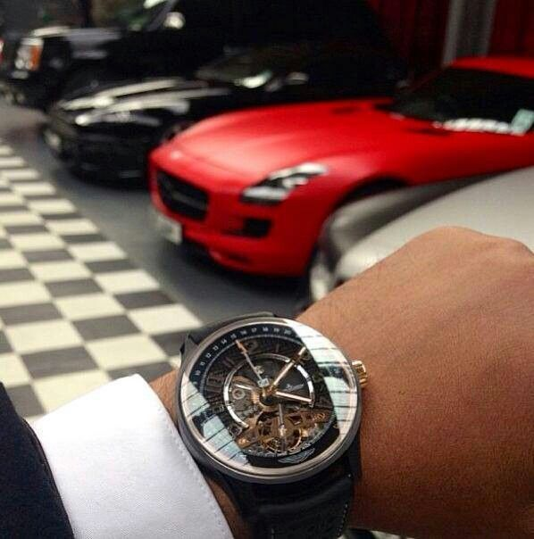 Wear the right watch and drive in style
