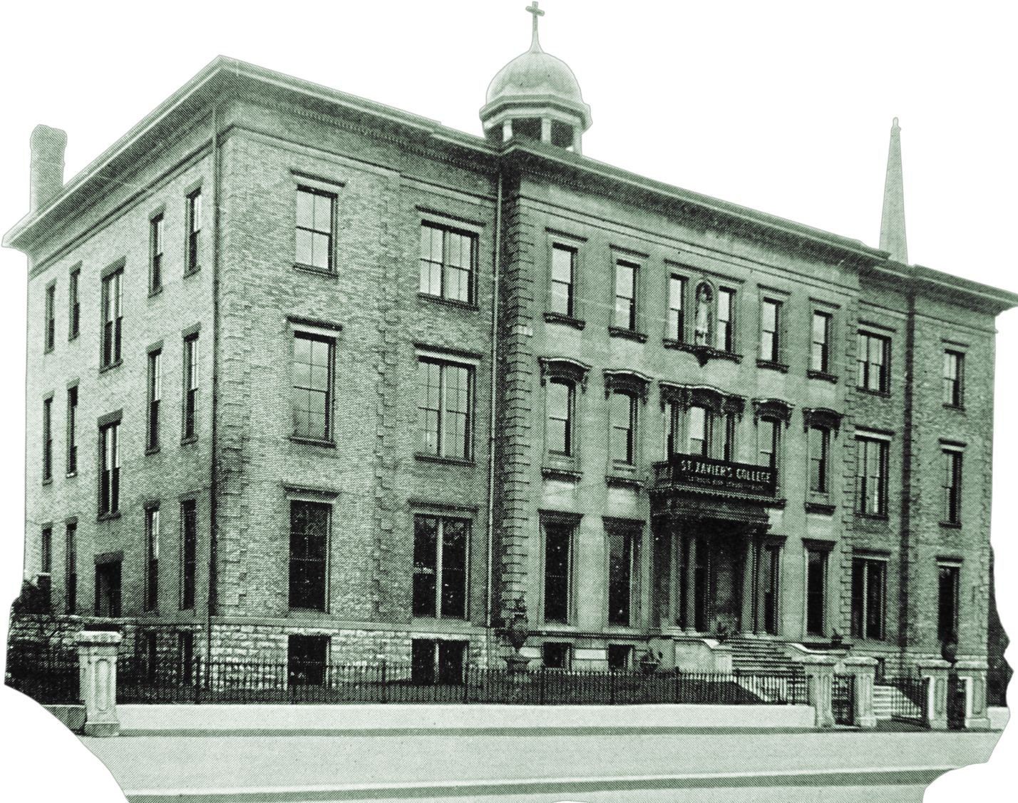 St Xavier High School Opened 1864 This Building At 118 W