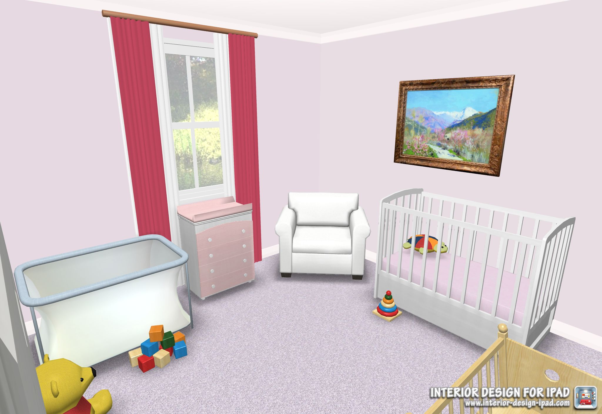 Create Your Baby S Room With Interior Design For Ipad App Http Interior Design Ipad Com Interior Design Design Interior