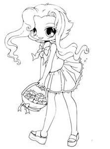 Cute Anime Chibi Food Coloring Pages Bing Images Shirt Cute