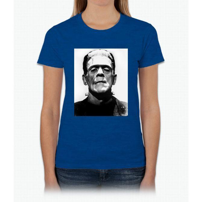 Frankenstein Vintage Classic Horror Movie Bee Movie Womens T-Shirt