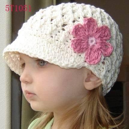 Olha, existem inúmeros modelos de gorro de crochê como fazer muito ...