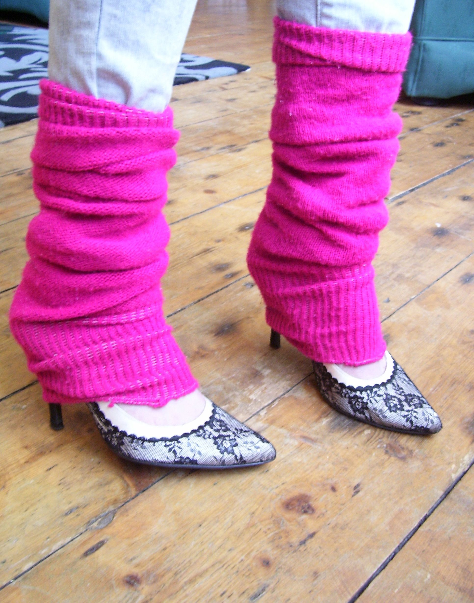 80's leg warmers with jeans - Google Search