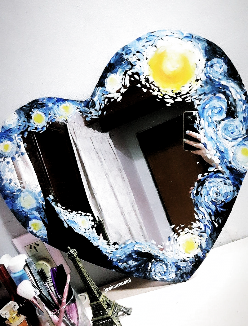 Pin De Agus Gimenez En Deco Pintura De Espejos Espejos Pintados Dibujos Para Arte
