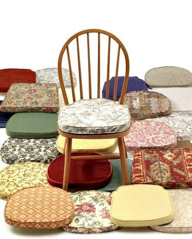 cushions for chairs | Dining Room Chair Pads Cushions ...