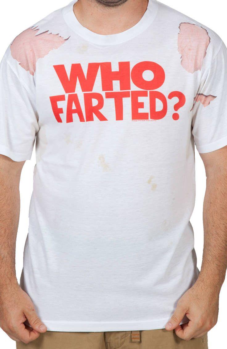 17cbbdcf98dd Who Farted Revenge of the Nerds Shirt Revenge, Nerd, Mens Tops, T Shirt