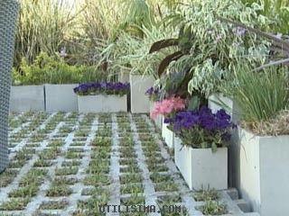 Colocar bloques de cemento en el jard n bloques de for Bloques de cemento para pisos de jardin