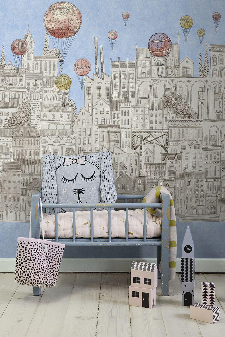 Beautiful childlike  Personalized wallpaper mural