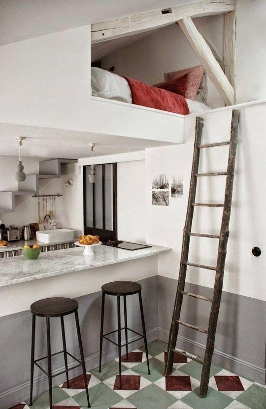 Cu l es la soluci n para espacios muy peque os dobles for Apartamentos muy pequenos