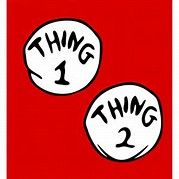 photograph regarding Thing 1 and Thing 2 Logo Printable referred to as Matter 1 and Issue 2 Symbol Printable - Bing Shots Kyries