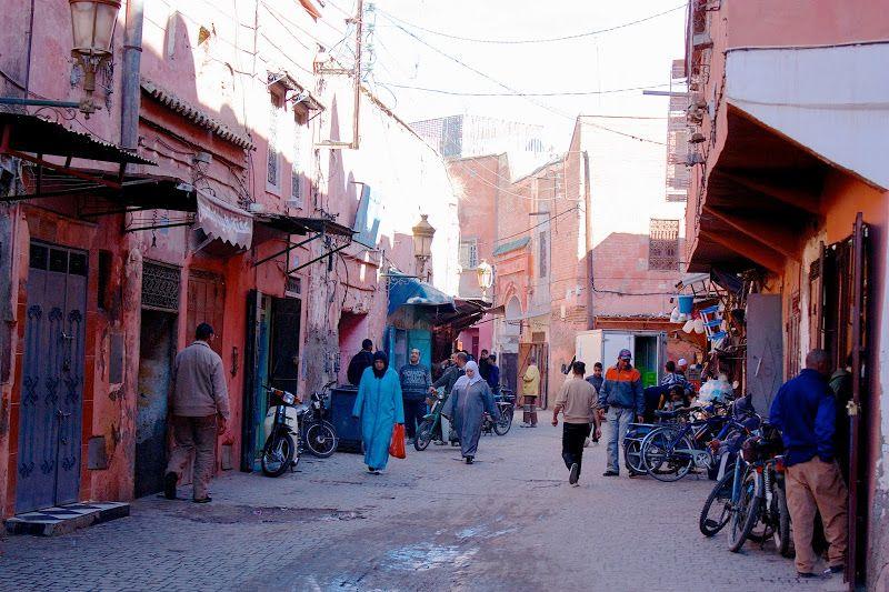 Visitando Marrakech, la ciudad roja