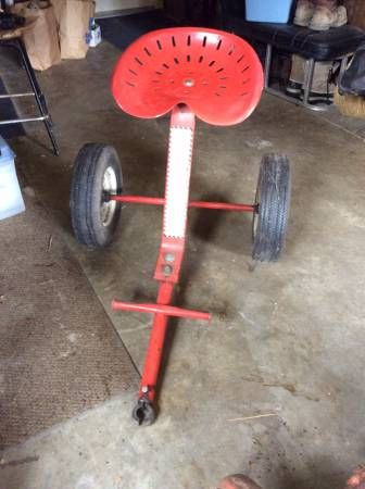 A 1957-L Gravely's removable sulky. Found on Craigslist ...