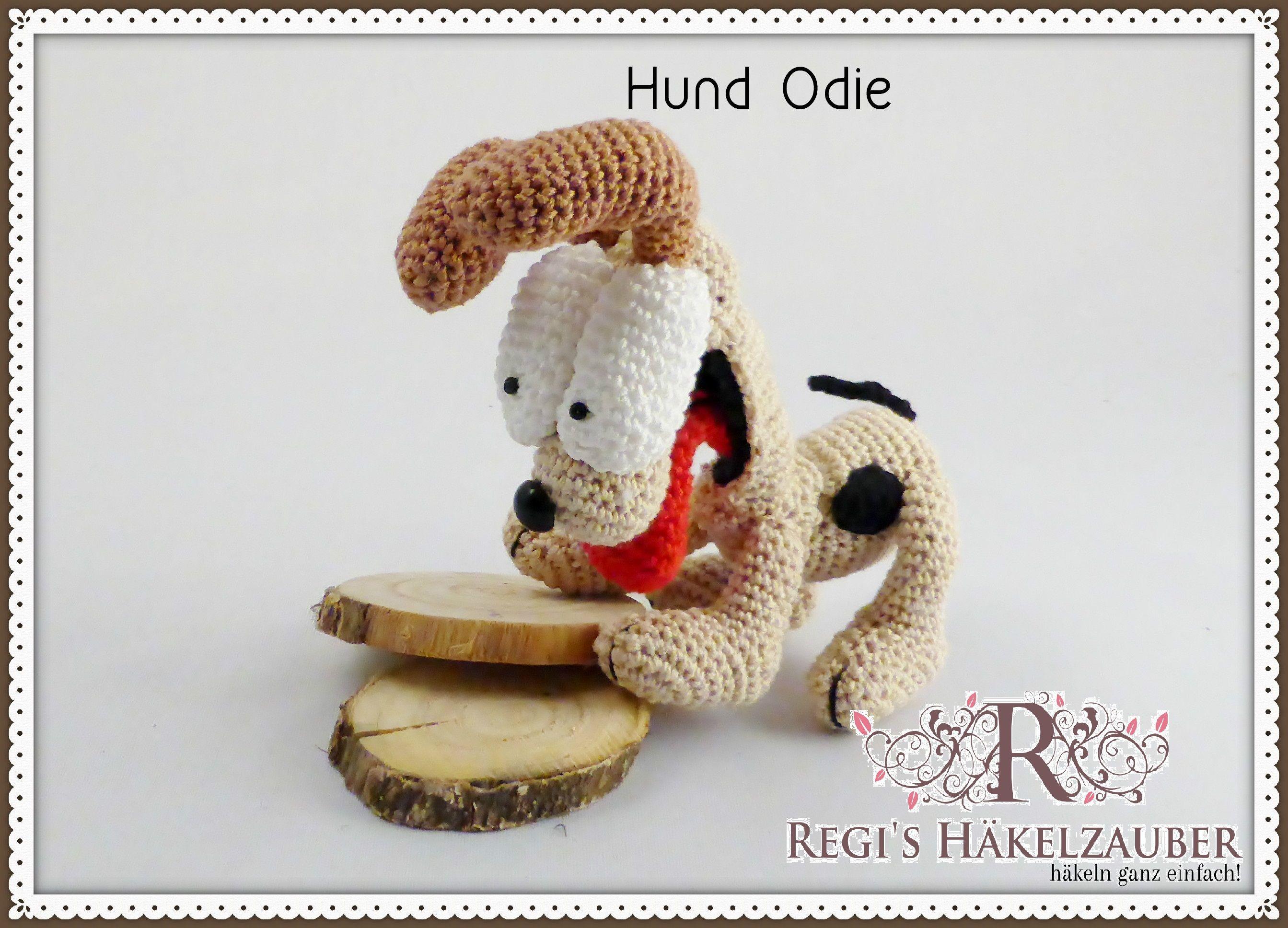 Häkelanleitung Hund Odie | Amigurumi Häkelanleitungen | Pinterest ...