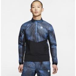 Photo of Nike Herren-Laufoberteil mit halbem Reißverschluss – Blau NikeNike