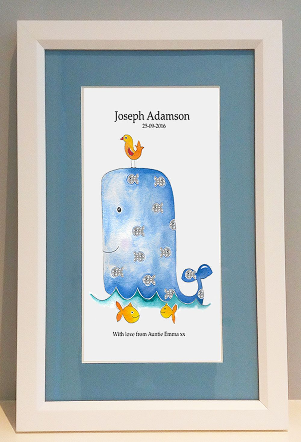 Framed name picturewhale personalised picture baby gifts1st framed name picturewhale personalised picture baby gifts1st birthday giftschristening negle Images