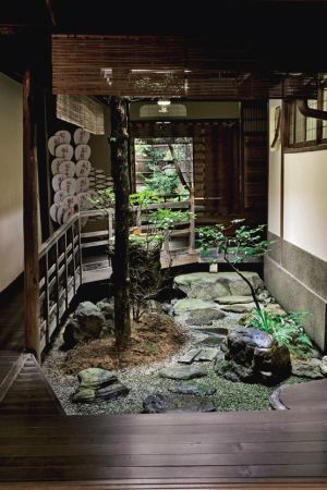Rather small, but really interesting idea >>> Doing a bit of study on small courtyard landscapes.