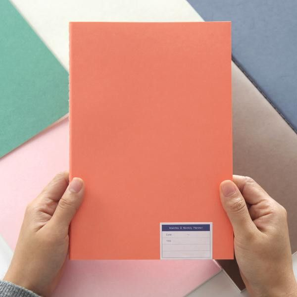 Livework Minimal Planner M - Coral from Fox and Star