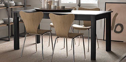 Magnus Chair Restoration Hardware Extension Dining Table