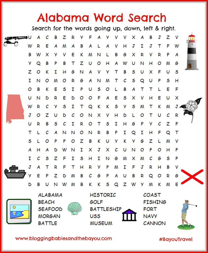 Summer Wordsearch, Crossword Puzzle, and More
