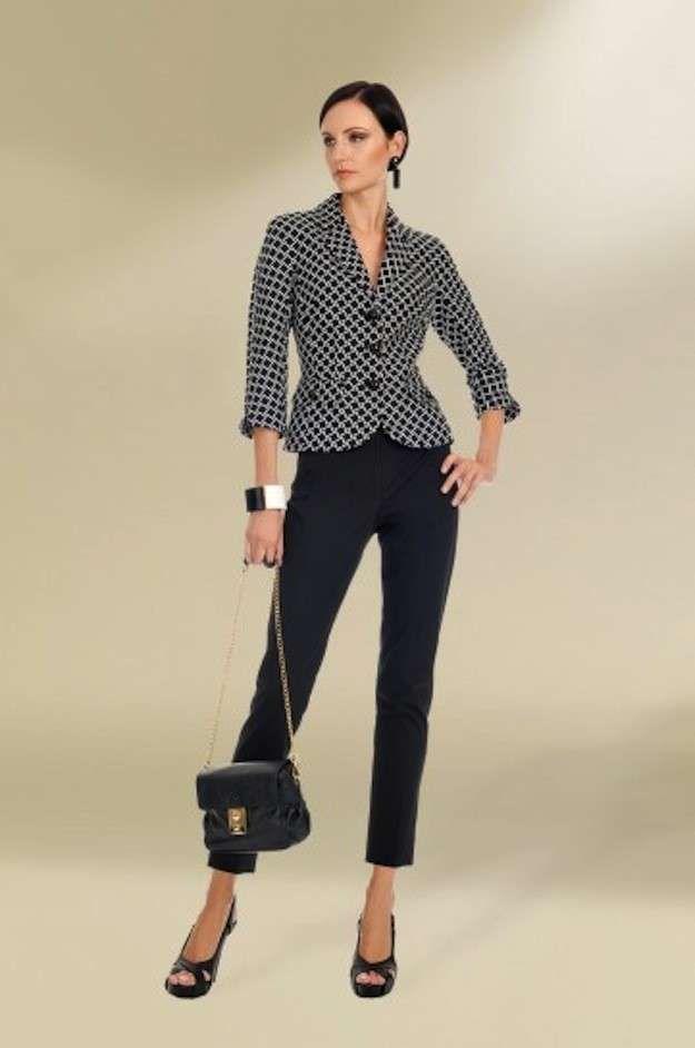 Trajes de fiesta de pantalón para mujer  fotos de los modelos - Look  ceremonia 3ad0aa6d60aa