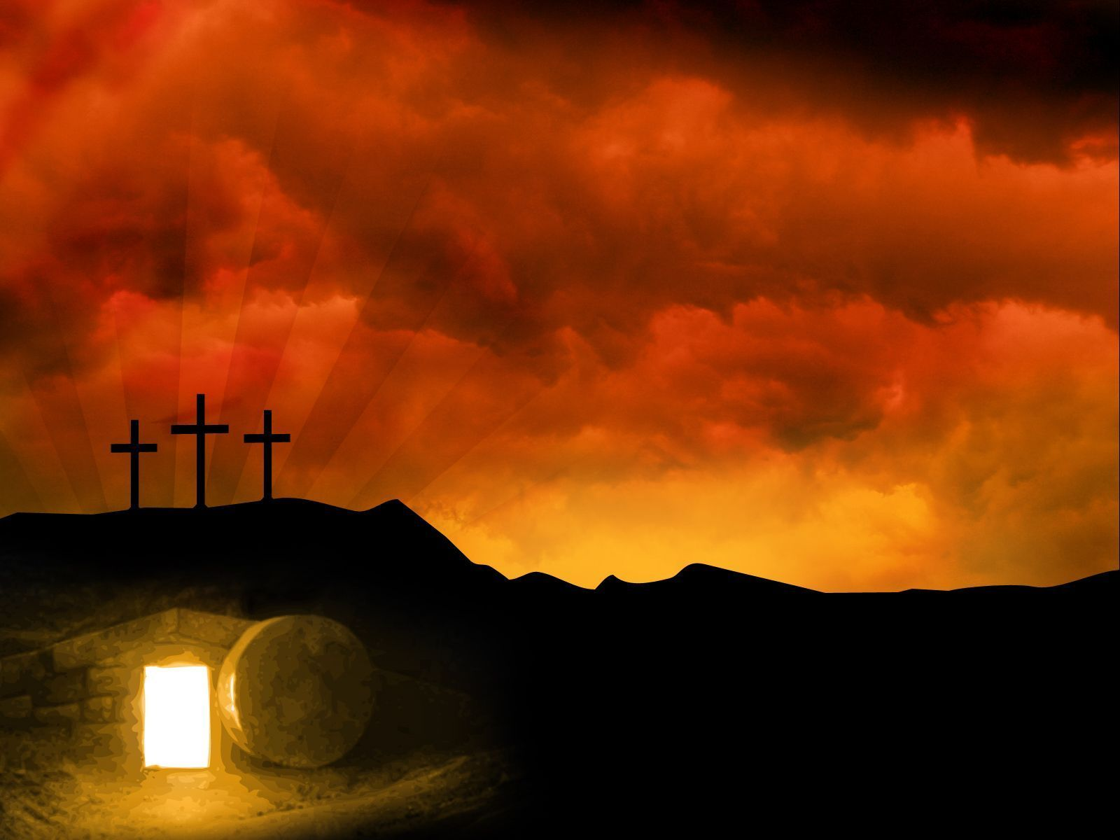 Religious easter backgrounds wallpaper cave jesus is - Religious easter wallpaper ...