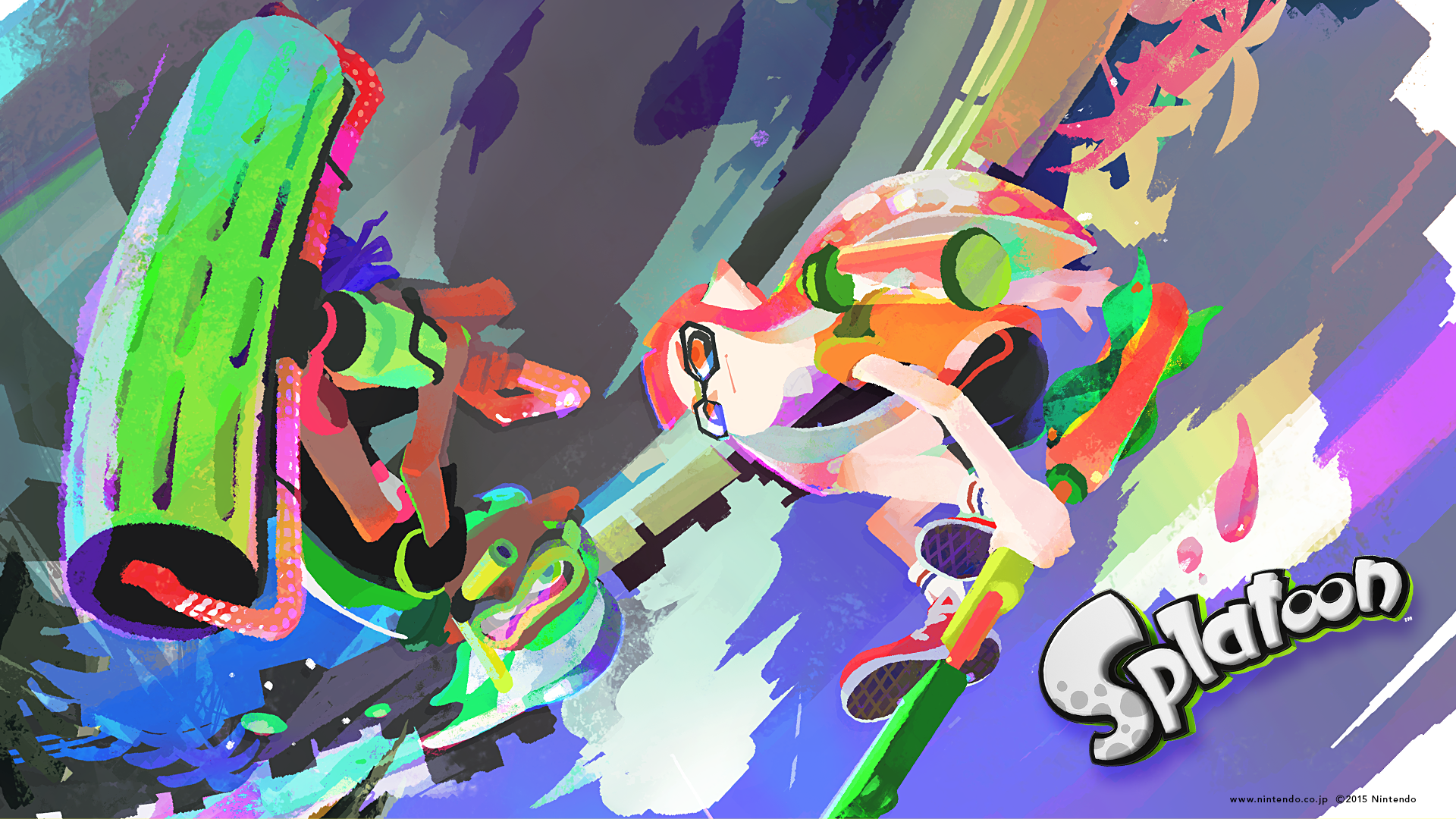 Splatoon Summer Pc 1920 1080 Png 1920 1080 スプラトゥーン