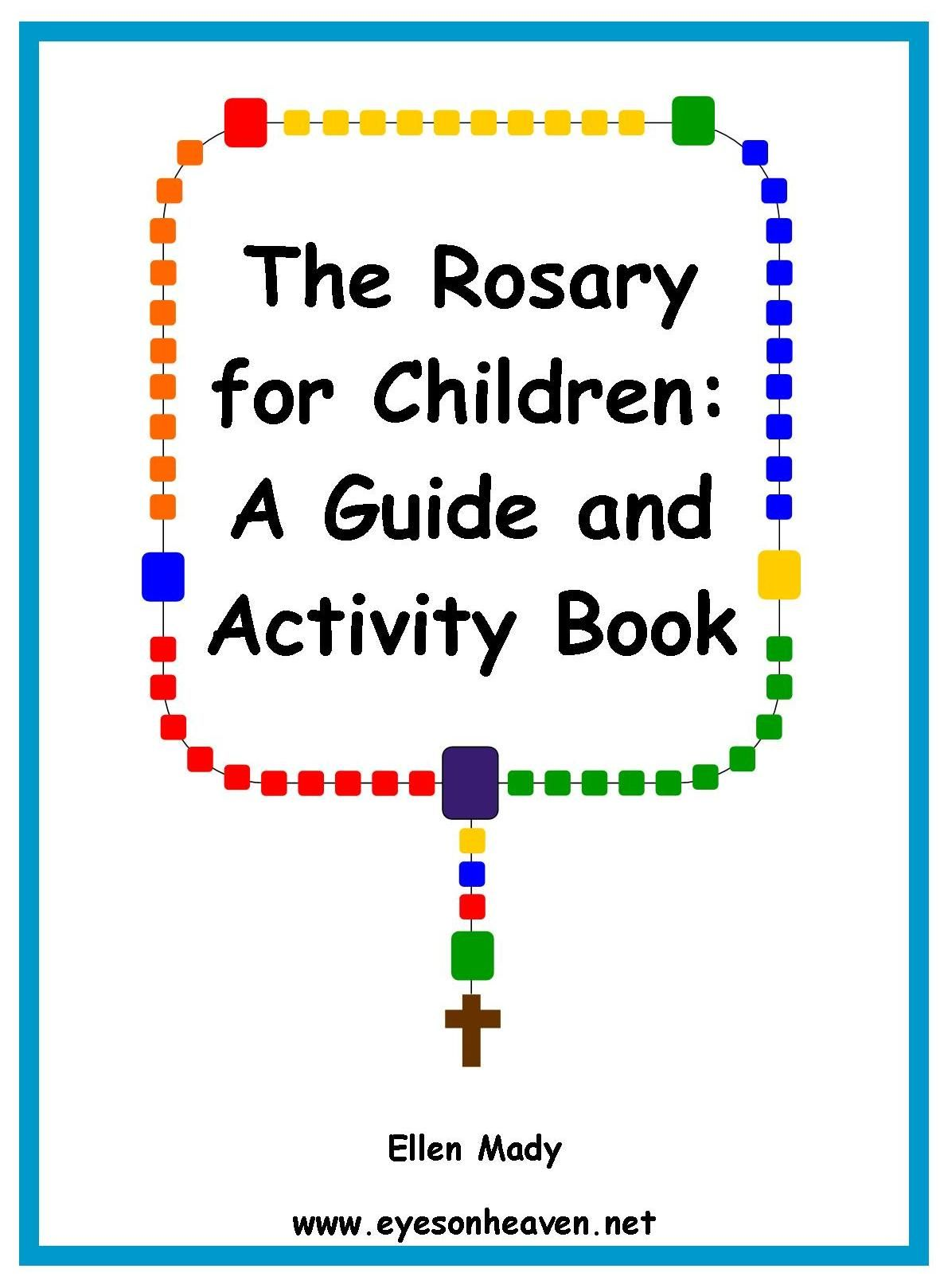 the rosary for children a guide and activity book [ 1181 x 1618 Pixel ]
