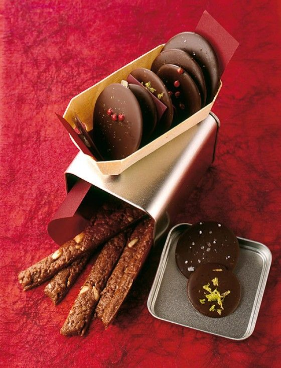 Würzige Schokoladentaler - Weihnachten Geschenke aus der Küche - 26
