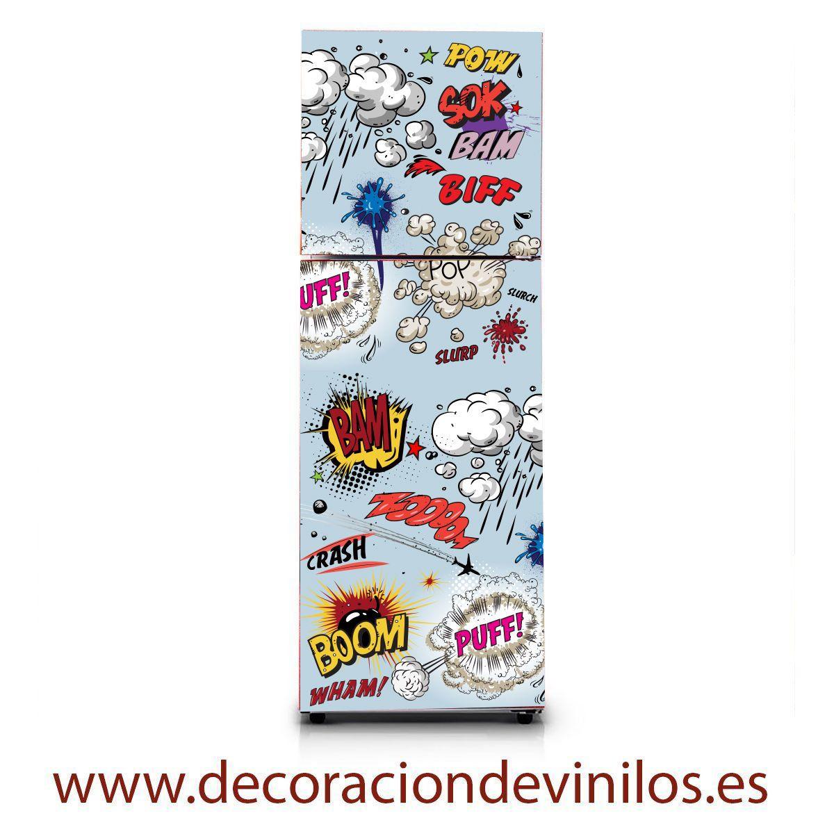 Vinilos para neveras pegatinas frigorificos stickers frigo - Decoracion de neveras ...