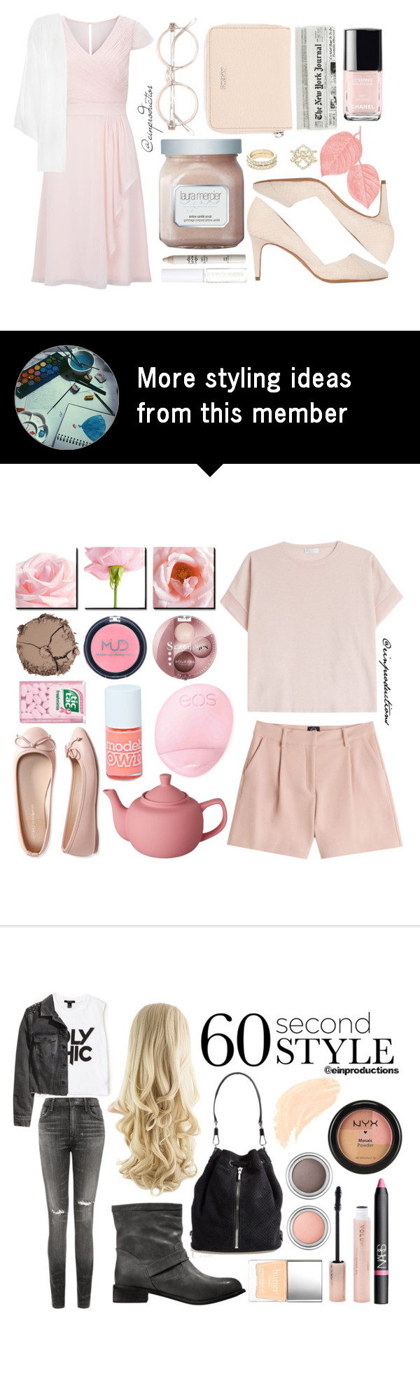 """""""Pastel Pink"""" by einproductions on Polyvore"""