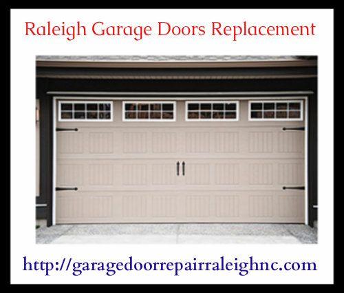 Get Best Raleigh Garage Doors Replacement Service At Garage Door