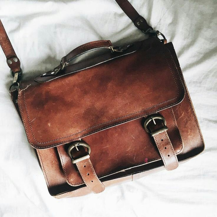 a22b93f9ba S H A R R A T U M Brown Leather Bags